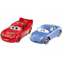 AUTA CARS 3 DXV05 Dwupak samochodzików - Zygzak MCQUEEN i SALLY