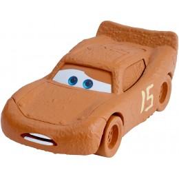 AUTA CARS 3 DXV51 Samochodzik - Ubłocony Zygzak McQueen