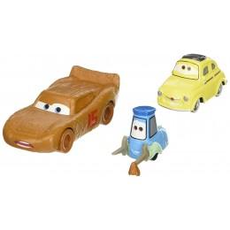 AUTA CARS 3 DXW00 Dwupak samochodzików - Zygzak McQueen, Luigi & Guido