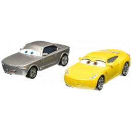 AUTA CARS 3 DXW02 Dwupak samochodzików - STERLING i CRUZ RAMIREZ
