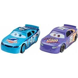 AUTA CARS 3 DXW03 Dwupak samochodzików - Cal WEATHERS i Bobby SWIFT
