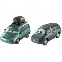 Auta 3 Cars - Dwupak samochodzików - Minny i Van DXW06