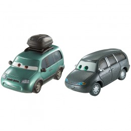 AUTA CARS 3 Dwupak samochodzików - MINNY i VAN DXW06