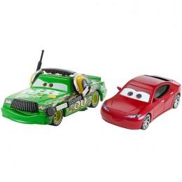 AUTA CARS 3 DXW07 Dwupak samochodzików - NATALIE i CHICK HICKS