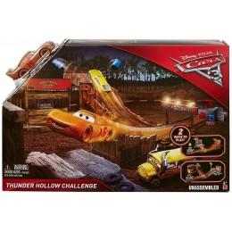 Auta 3 Cars Mattel DYB00 Zestaw torów Wyzwanie Thunder Hollow + Zygzak McQueen