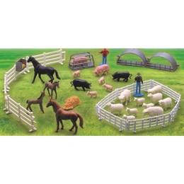 NewRay 05511 FARMA FIGURKI ZWIERZĄT ZWIERZĘTA zestaw B