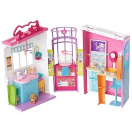 Barbie FBR36 Rozkładana lecznica dla zwierząt