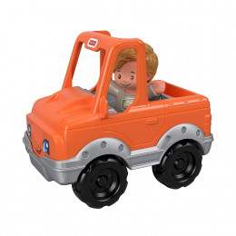 Fisher Price - Little People - Pomarańczowy jeep z figurką GGT36