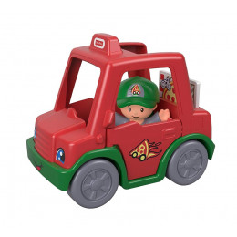 Fisher Price - Little People - Autko dostawcze z pizzą GGT38