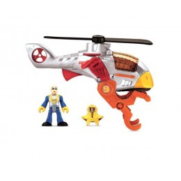Fisher Price Imaginext Samolot Helikopter X5257