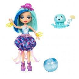 Enchantimals FKV57 Lalka zmieniająca kolor Jessa Jellyfish i ośmiornica Marisa