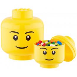 Lego – Pojemniki Głowy