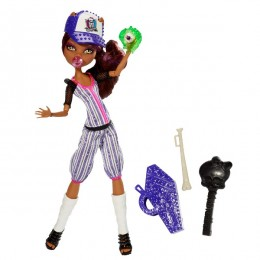 Monster High - Sportowe Upiorki - Clawdeen Wolf BJR12