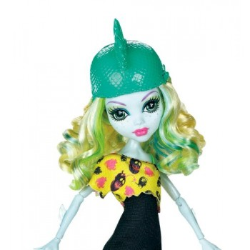Monster High Upiorni Uczniowie Lagoona Blue na Rolkach
