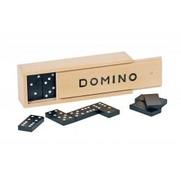GOKI 15335 Klasyczna Drewniana Gra Domino