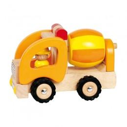 GOKI 55926 Drewniany Pojazd Budowlany - Betoniarka
