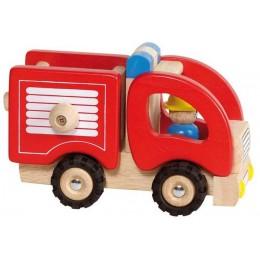 GOKI 55927 Drewniany Pojazd - Straż Pożarna