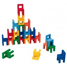 GOKI 56929 Gra Zręcznościowa - Balansujące Krzesełka