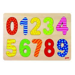 GOKI 57574 Puzzle Układanka - Cyfry