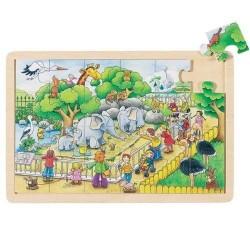 GOKI 57808 Puzzle Wizyta w Zoo