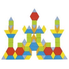 GOKI 58557 Mozaika Drewniana 250 Elementów