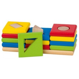 GOKI 58647 Drewniany Sorter Kształtów