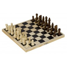 GOKI Toys Pure HS040 Drewniane Szachy Klasyczne