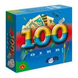 Alexander - Zestaw 100 Gier w jednym pudełku - 3765