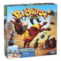 Hasbro 48380 Gra Zręcznościowa Buckaroo - Szalony Osiołek