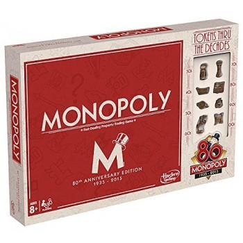 Hasbro 80 LAT MONOPOLY EDYCJA LIMITOWANA B0622
