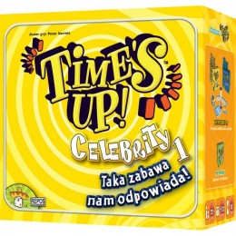 Asmodee Rebel Gra towarzyska - Time's Up: Celebrity 1