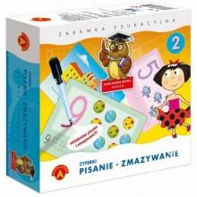 Alexander - Zestaw edukacyjny - Pisanie - Zmazywanie Cyferki - 7374