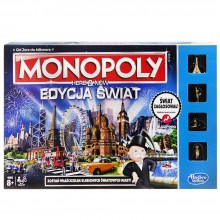 Gra Hasbro B2348 Monopoly Here and Now - wersja świat
