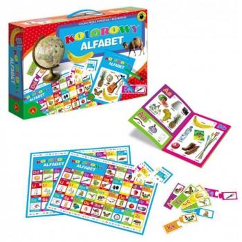 Alexander - Gra - Kolorowy Alfabet - 7558