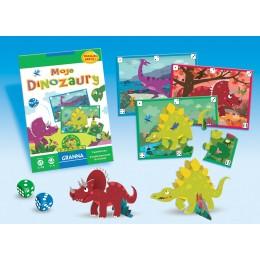 Granna Gra Puzzle - Moje Dinozaury