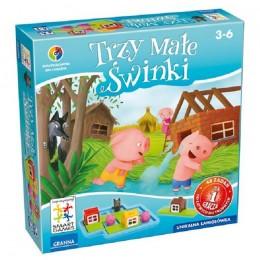 Granna Gra Logiczna - Trzy Małe Świnki