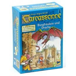 Carcassonne dodatek 3 Księżniczka i Smok