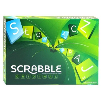 Gra Mattel Y9616 Scrabble Orginal - wersja polska