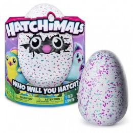 Hatchimals 602887 Zabawka interaktywna - jajko PINGWINIAK różowy