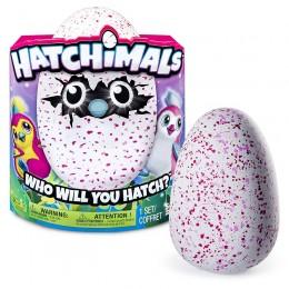 Hatchimals 603433 Zabawka interaktywna - jajko PINGWINIAK turkusowy