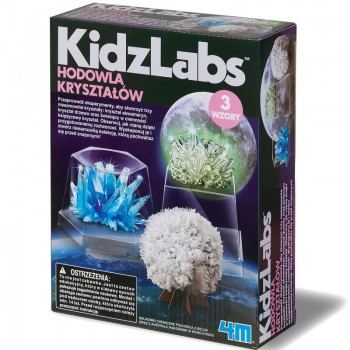KidzLabs - Hodowla Kryształów - 3 wzory 03917