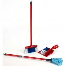 Klein – Zestaw do sprzątania z mopem i zmiotką Vileda Junior – 6706
