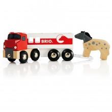 BRIO 33405 Ciężarówka do przewozu Koni