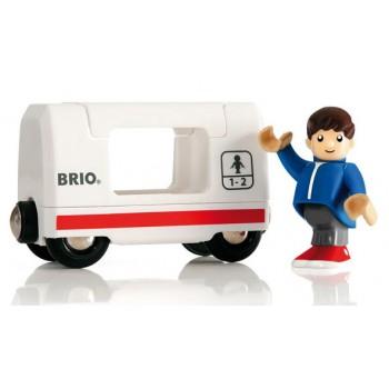 BRIO Pociąg osobowy z Pasażerem 33509