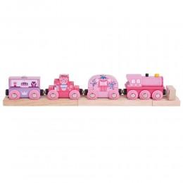 BJT451 Kolejka drewniana - Pociąg Księżniczki