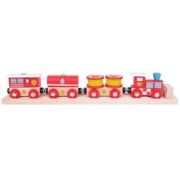 BJT474 Pociąg z wagonami - Straż Pożarna