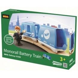 BRIO Pociąg jednoszynowy Monorail na baterie 33308