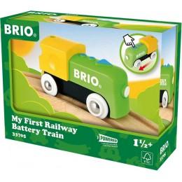 BRIO Moja pierwsza lokomotywa na baterię 33705