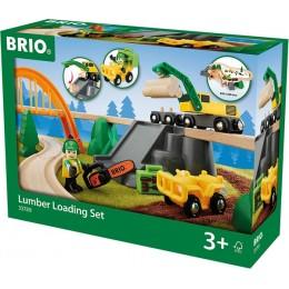 BRIO 33789 Zestaw Praca w lesie