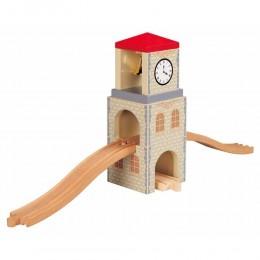 MAXIM Kolejka drewniana 50445 Wieża zegarowa